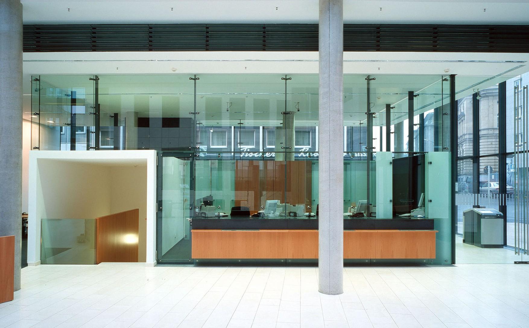 Dortmunder Volksbank   Interieur   Gerber Architekten