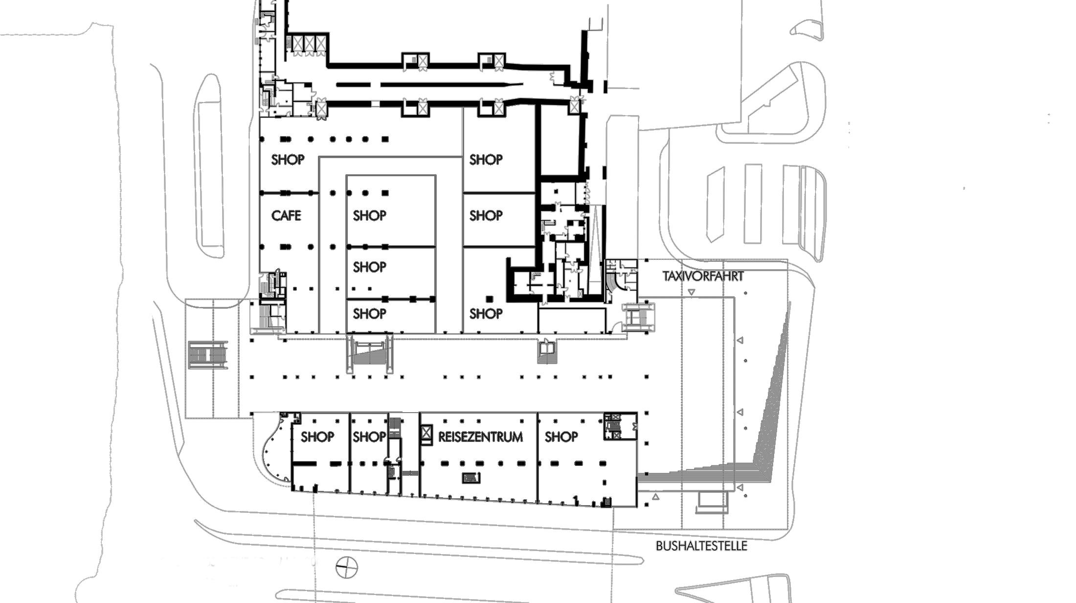 Conversion of Main Railway Station Essen Gerber Architekten