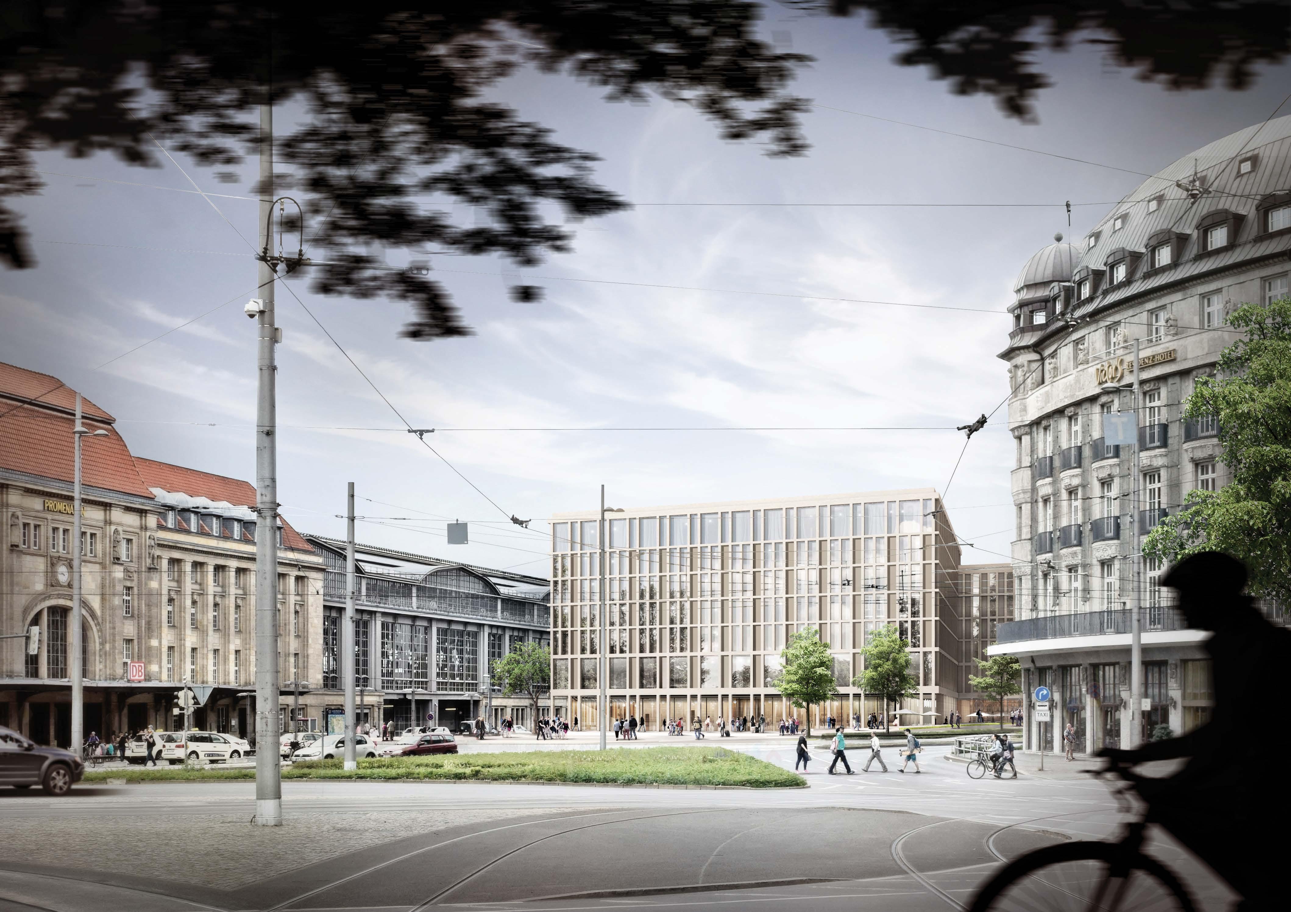 Architekten In Leipzig leipzig station east side gerber architekten