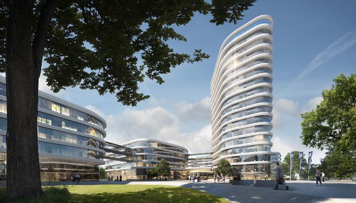 Neue Arbeitswelten Der Allianz Deutschland Ag Gerber Architekten