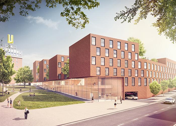 Neubau Von Mikroapartments Am Dortmunder U Gerber Architekten